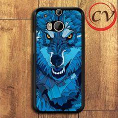 Wolf HTC One M8 Black Case