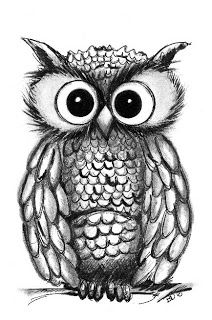 B.D.Designs: Owl Illustrations