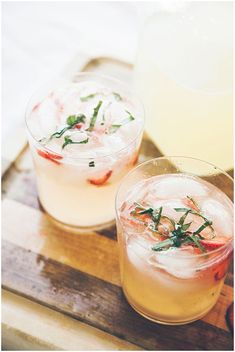 Vodka Lemonade Signature Cocktail Recipe via One Hitched Lane