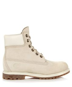 Timberland Women's leather laced ankle boots, Designer Footwear Sale, The White Collection, Secret Sales