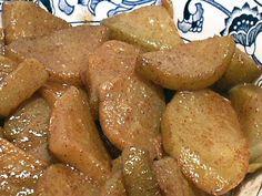 "FRIED ""APPLES"" - Linda's Low Carb Menus & Recipes chayote squash"