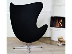 Fritz Hansen Egg Lounge Chair - Quickship by Arne Jacobsen - Chaplins