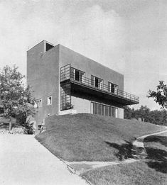 House for two young men  Brno, Czechoslovakia  Otto Eisler, 1930-1931
