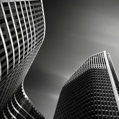 Black and White Photographs of the Amazing Buildings