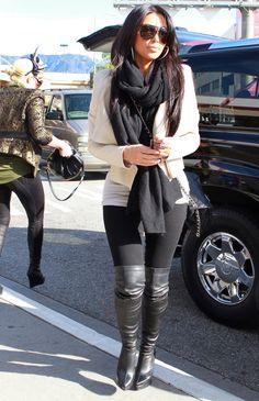 Kim Kardashian Style Fashion style Inspiration fall - winter I want u stepmom Mode Outfits, Sexy Outfits, Casual Outfits, Fashion Outfits, Womens Fashion, Fashion Ideas, Fashion Tips, Fall Winter Outfits, Autumn Winter Fashion