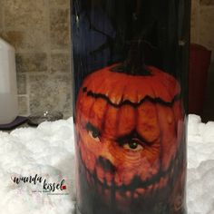 "It's all about the pumpkins! 22 oz ""fatty"" tumbler."