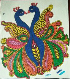 Twin peacock