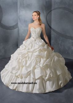 Hochzeitskleid Brautkleid 2013 Gr 34 36 38 40 42 44 46 48 50 52 54 56 58 60 62 64  www.modekarusell.eu