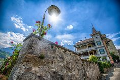Spiez, Switzerland - Spiez, Switzerland 2017 Switzerland, Mansions, House Styles, Mansion Houses, Manor Houses, Villas, Fancy Houses, Mansion, Villa