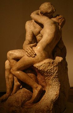 """Rodin's """"The Kiss"""" in Buenos Aires by Alaskan Dude, via Flickr"""