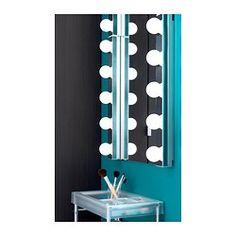 LEDSJÖ LED væglampe, rustfrit stål - rustfrit stål - IKEA