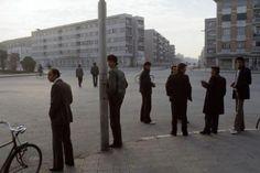 1988 Shkoder ALBANIA, sheshi ne lagjen Parruce