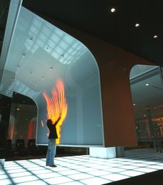 Across from Tokyo station. Interactive Exhibition, Interactive Walls, Interactive Media, Interactive Installation, Exhibition Space, Installation Art, Interaktives Design, Logos Retro, Different Kinds Of Art