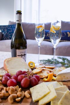 Sparkling Wine & Cheese for NYE
