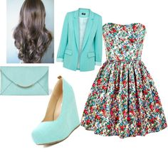This is such a cute outfit I love the colors!!