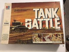 Vintage 1976 Tank Batlle MB Games - Complete with Box 70s Toys, Retro Toys, Vintage Toys, 70s Board Games, Vintage Board Games, Childhood Toys, Childhood Memories, Bored Games, Battle Games
