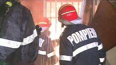 Un apartament din Pitesti a ars în totalitate dupa ce proprietarii au plecat de acasa si au lasat televizorul pornit.