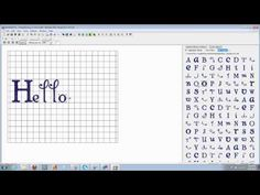 How to Add Purchased Fonts Using Sew-What Pro - YouTube