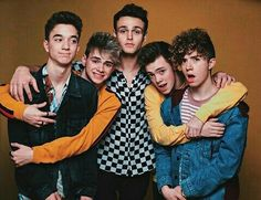 Jonah looks like a dad and the others his mischievous sons