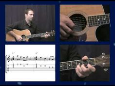 ▶ Beginner Blues Guitar Lessons: Sitting Easy Blues on Acoustic - YouTube