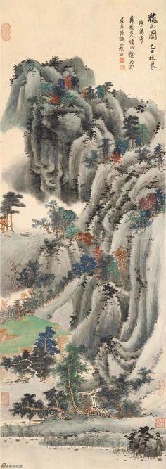 #chineselandscape #asianbrushpainting #chinesebrushpainting