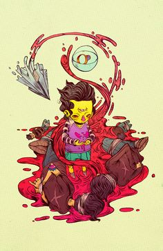 COLERA by Raul Urias, via Behance