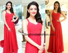 Kajal Aggarwal in a red dress   Kajal Aggarwal launched Ponds Starlightproduce in Hyderabad wearing a red maxi dress. Bold red lips and wavy hair completed her look!  Related Posts  Kajal Aggarwal in Ritu Kumar  Kajal Aggarwal in Debashri Samantha  Kajal Aggarwal in Madsam Tinzin  The post Kajal Aggarwal in a red dress appeared first on South India Fashion.  from South India Fashion https://www.southindiafashion.com/2018/02/kajal-aggarwal-red-dress.html via IFTTT South India Fashion