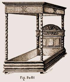 Lit Louis XIII