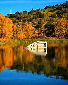 Naufragio en La Mancha | Wreck in La Mancha  Laguna del Rey Ruidera Ciudad Real
