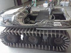 amphibious atv | Argo Atv Frontier 650hd Amphibious Vehicle W/ Swim Tracks & Camo Paint ...