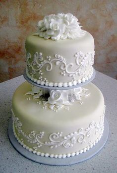 elegant wedding cake designs - Google Search