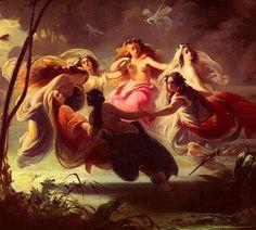 the fairy dance.. (detail) by t. van gieson, via Flickr