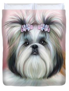 Stassi The Tzu Duvet Cover by Catia Cho