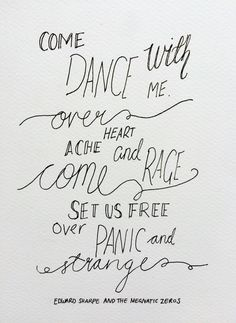 Edward Sharpe and the Magnetic Zeros Man on Fire lyric
