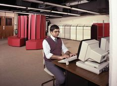 Cray X-MP 48, installed in the Chilton Computing Lab in 1986. This behemoth had 64 Mb of RAM and came with a free sofa.