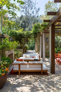 Tour through Sela Ward's French country-inspired family home, situated in beautiful Bel Air, Los Angeles.