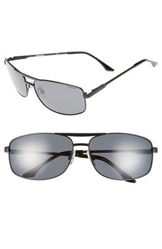Polaroid Eyewear '2017S' 65mm Polarized Navigator Sunglasses