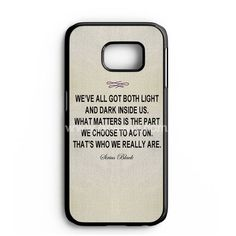 Harry Potter - Albus Dumbledore Quote Samsung Galaxy Note 7 Case | aneend