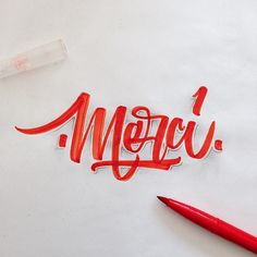 25 Outstanding calligraphy and lettering inspiration by David Milan will be shared in this post. Calligraphy and lettering inspiration is truly awesome Creative Typography, Typography Quotes, Typography Inspiration, Typography Letters, Graphic Design Inspiration, Hand Drawn Lettering, Brush Lettering, Lettering Design, Calligraphy Words