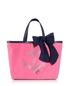 Juicy Couture | Rhinestone Anchor Tote