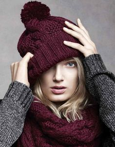 matching beanie and scarf