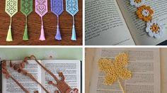 Ideias de Marcadores de Livros em Croche