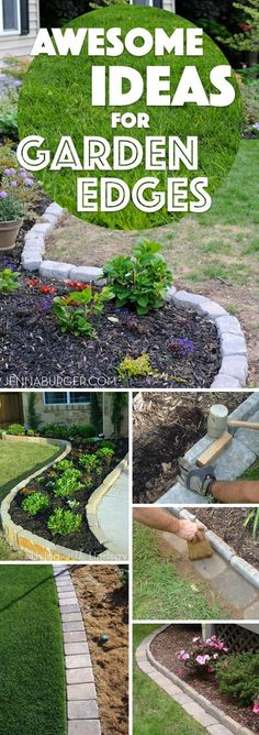 Awesome Ideas For Garden Edges #yard #landscaping #edging