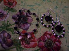 Jewels with black onyx