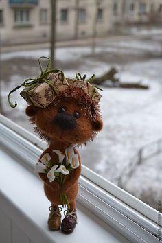 Игрушки животные, ручной работы. Ярмарка Мастеров - ручная работа Рыжий ежик для Натальи. Handmade.