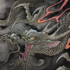 """#painting #watercolor #dragon #sketch"""