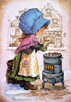 Qui était Mary May Sarah Key, Vintage Pictures, Vintage Images, Cute Pictures, Holly Hobbie, Mary May, Cute Illustration, Vintage Cards, Retro