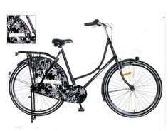 Omafiets Mat Barok Zwart 28 Inch | bestel gemakkelijk online op Fietsen-verkoop.nl