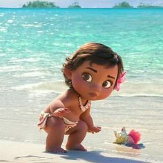 I love baby Moana! Disney Princess Pictures, Disney Princess Art, Disney Pictures, Disney Art, Disney Films, Disney And Dreamworks, Disney Cartoons, Disney Pixar, Baby Disney Characters