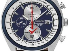 Seiko Mens Chronograph Watch Was £169.00 | Now £125.95 http://tidd.ly/62630113